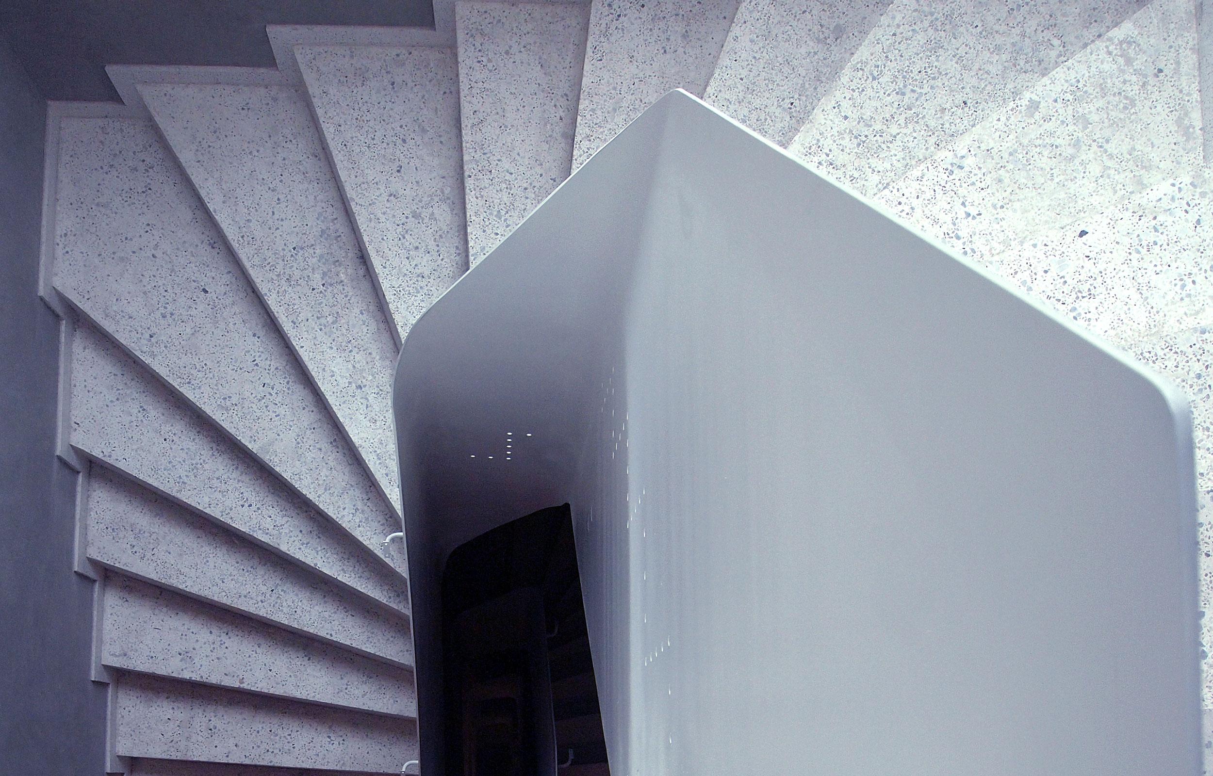 Scara metal balustrada flat haute couture