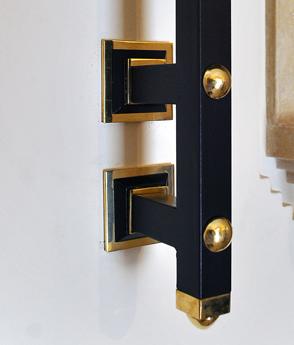 Scara interioara balustrada model clasic metal