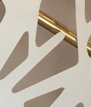 Panou separator metal decupat laser scara interioara balustrada