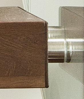 Scara trepte consola lemn masiv stejar balustrada sticla