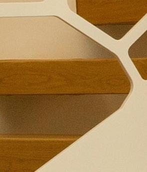 Scara arhitecturala trepte lemn balustrada metal cnc