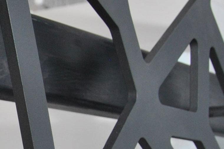 Balustrada scara interioara decupata laser haute couture