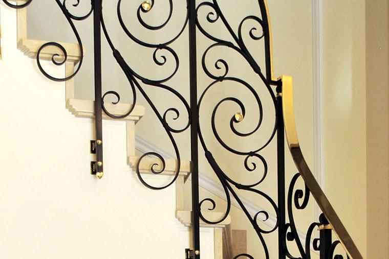 Balustrada scara locuinta clasica metal haute couture