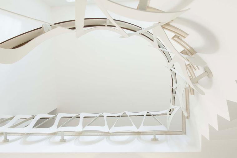 Scara domiciliu balustrada metal lemn haute couture