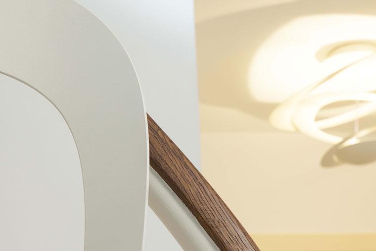 Balustrada 3d metal debitata laser mana curenta lemn