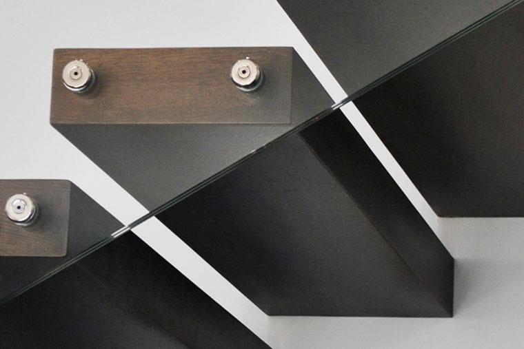 Trepte scara consola balustrada sticla haute couture